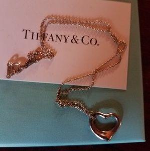 Tiffany Paloma Picasso Heart Necklace